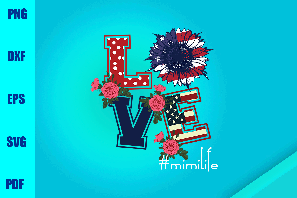 Love Mimi Life Graphic By Bumblebeeshop Creative Fabrica