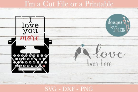 Print on Demand: Love Quotes Graphic Crafts By Designs by Jolein - Image 4