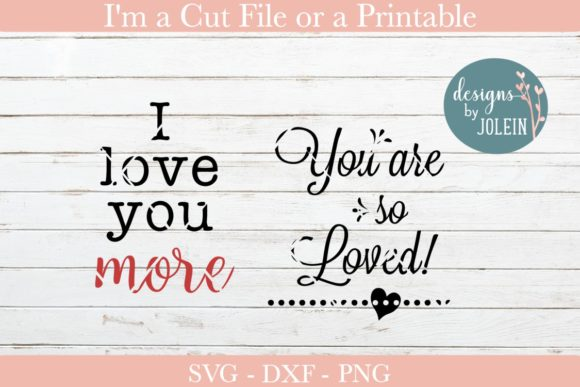 Print on Demand: Love Quotes Graphic Crafts By Designs by Jolein - Image 5