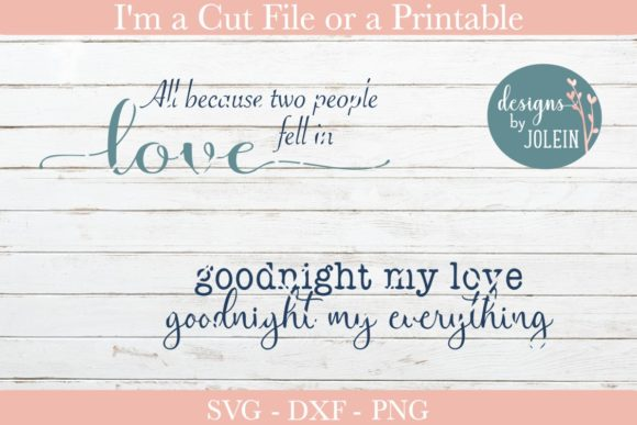 Print on Demand: Love Quotes Graphic Crafts By Designs by Jolein - Image 6