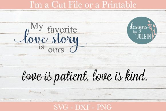 Print on Demand: Love Quotes Graphic Crafts By Designs by Jolein - Image 7