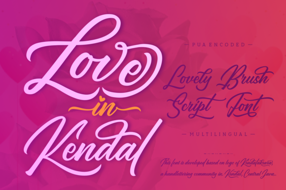 Love in Kendal Script & Handwritten Font By Situjuh