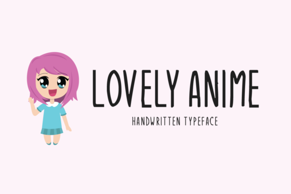 Print on Demand: Lovely Anime Display Font By Imposing Fonts
