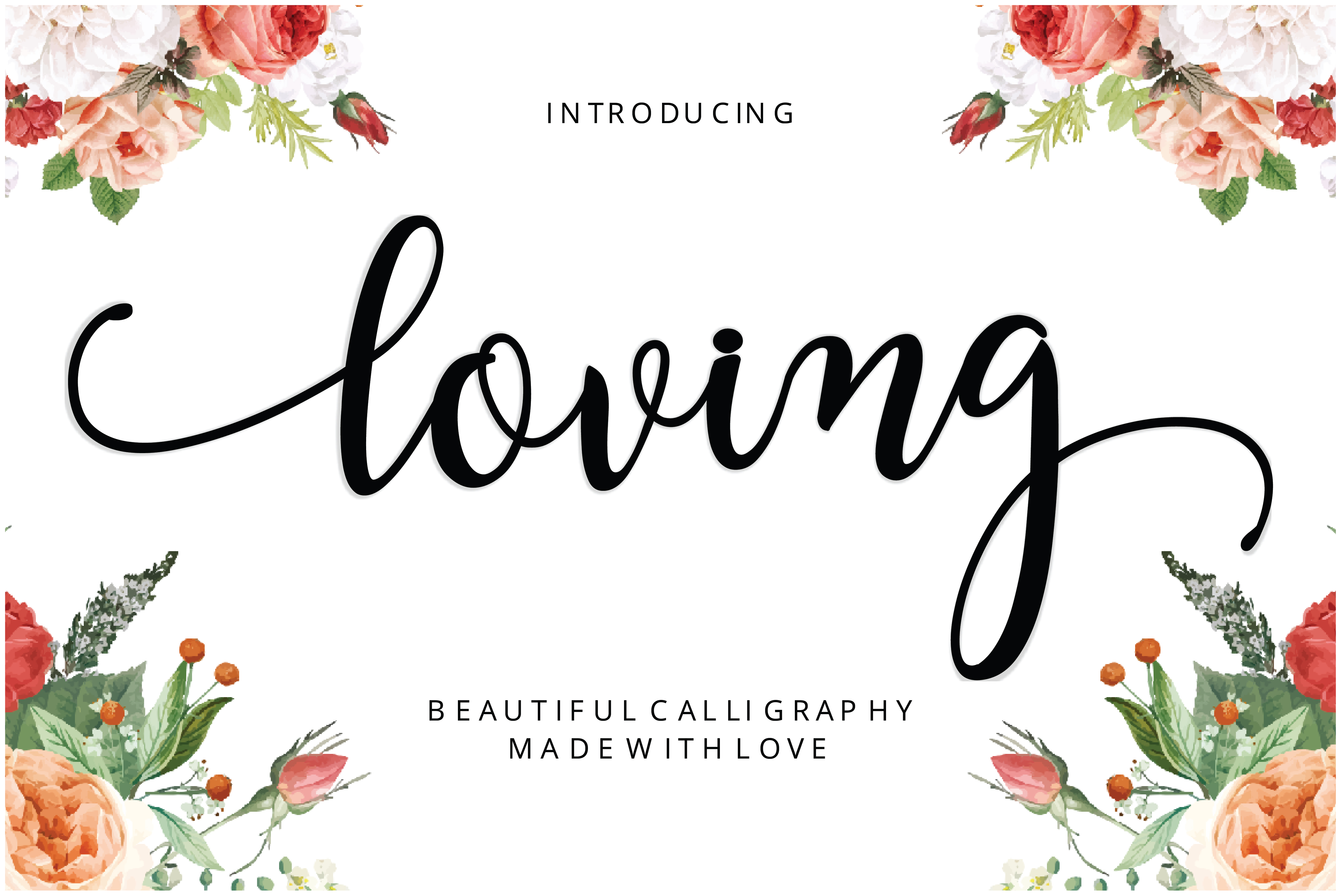 Download Free Loving Font By Musafir Lab Creative Fabrica SVG Cut Files