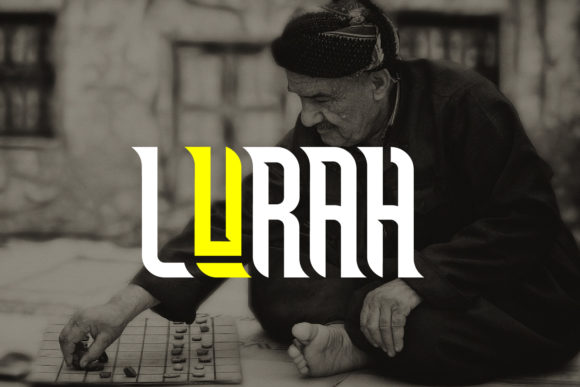 Lurah Font By da_only_aan Image 2