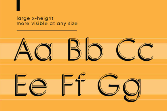 Print on Demand: MD Grotesque Thin 3D Sans Serif Font By Margarita Dyakovich - Image 3