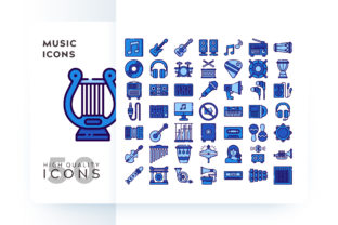 MUSIC ICON Graphic By Goodware.Std