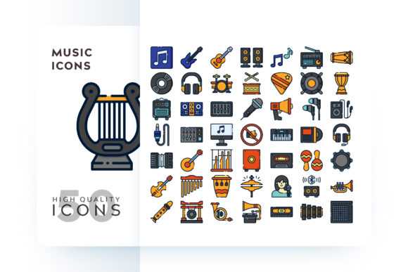 MUSIC ICON Graphic By Goodware.Std Image 1
