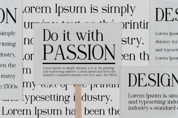 Print on Demand: Maclucash Serif Font By gumacreative - Image 3