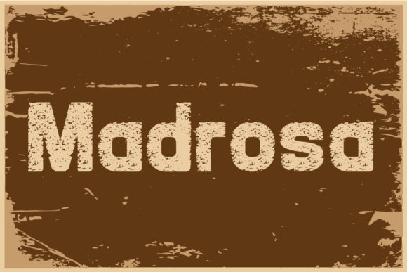 Madrosah Decorative Font By da_only_aan