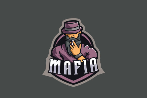 Print on Demand: Mafia E-Sports Logo Graphic Logos By ovoz.graphics