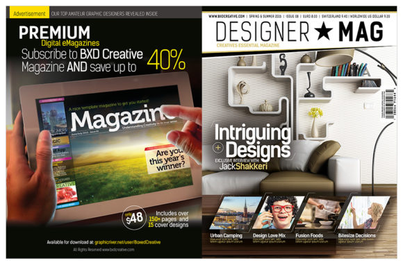 Magazine Template Indesign Graphic By Love Graphic Design Creative Fabrica