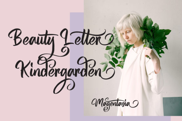 Print on Demand: Magentasia Script & Handwritten Font By feydesign - Image 5