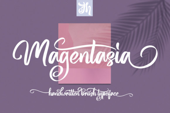 Print on Demand: Magentasia Script & Handwritten Font By feydesign