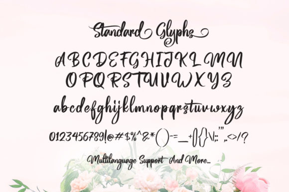 Print on Demand: Magentasia Script & Handwritten Font By feydesign - Image 7