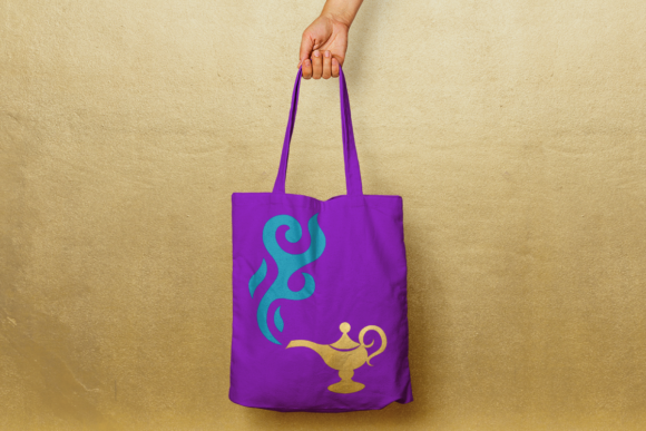 Magic Lamp SVG Graphic Crafts By DesignedByGeeks
