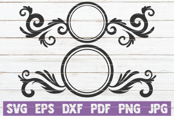 Download Free Mailbox Monograms Cut Files Graphic By Mintymarshmallows for Cricut Explore, Silhouette and other cutting machines.