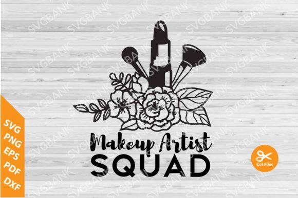 Download Free Makeup Artist Clipart Grafico Por Svgbank Creative Fabrica for Cricut Explore, Silhouette and other cutting machines.