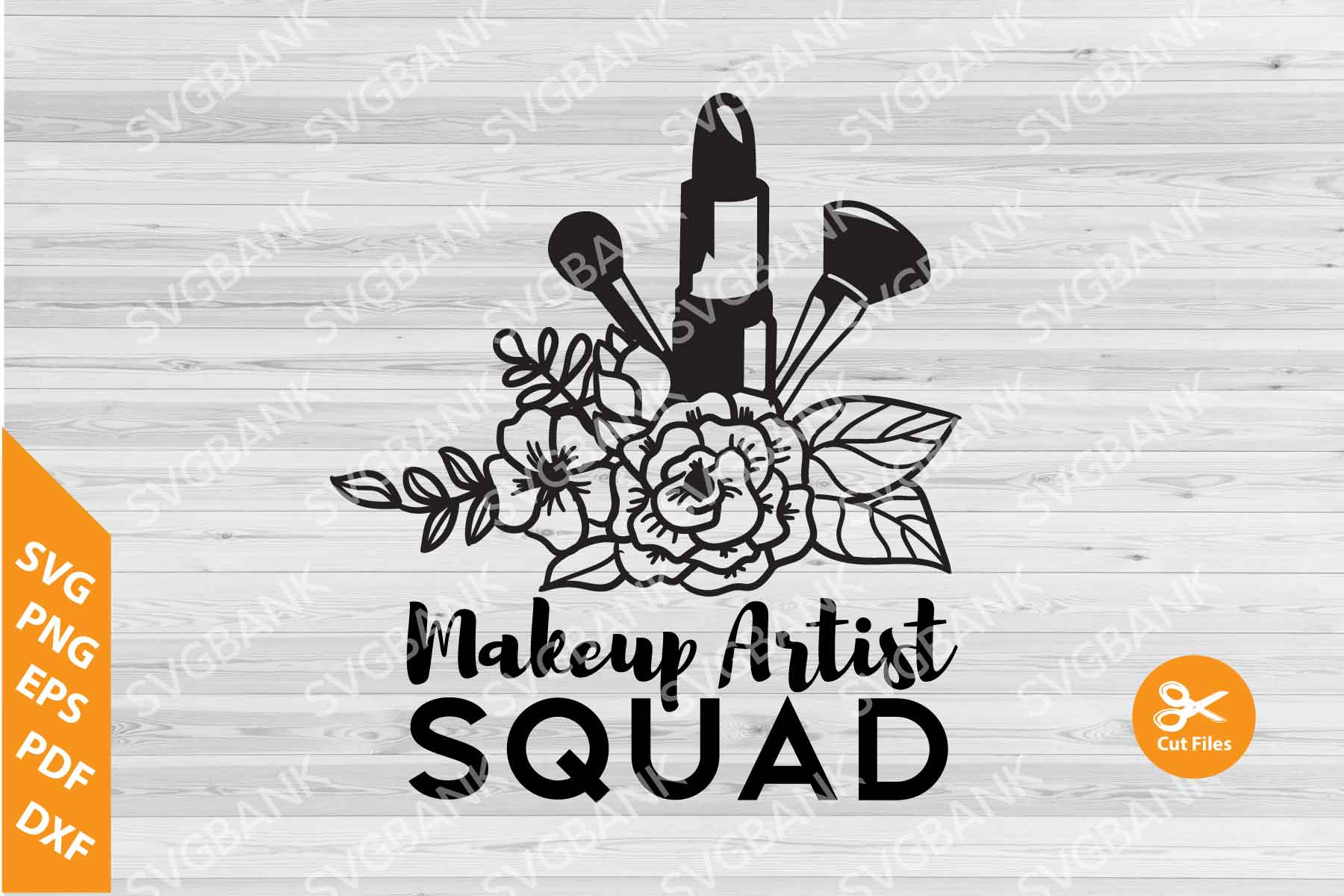 Download Free Makeup Artist Clipart Graphic By Svgbank Creative Fabrica for Cricut Explore, Silhouette and other cutting machines.
