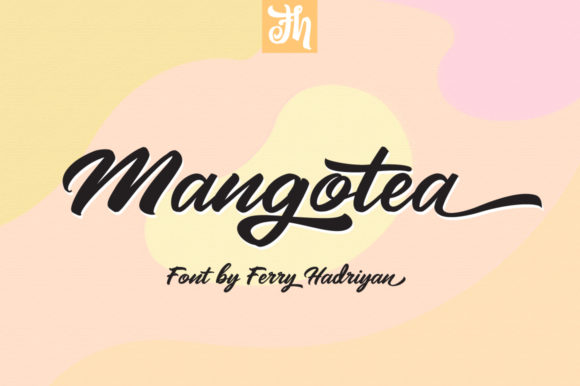 Print on Demand: Mangotea Script & Handwritten Font By feydesign