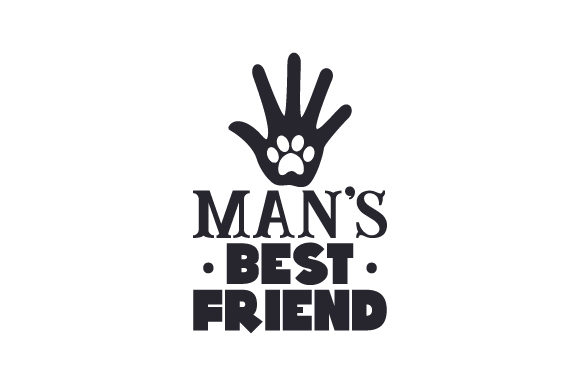 Download Free Man S Best Friend Svg Cut File By Creative Fabrica Crafts for Cricut Explore, Silhouette and other cutting machines.