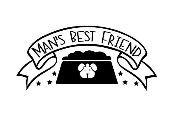 Man's Best Friend Dogs Craft Cut File By Creative Fabrica Crafts