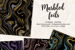 Marbled Foils Graphic By JulieCampbellDesigns