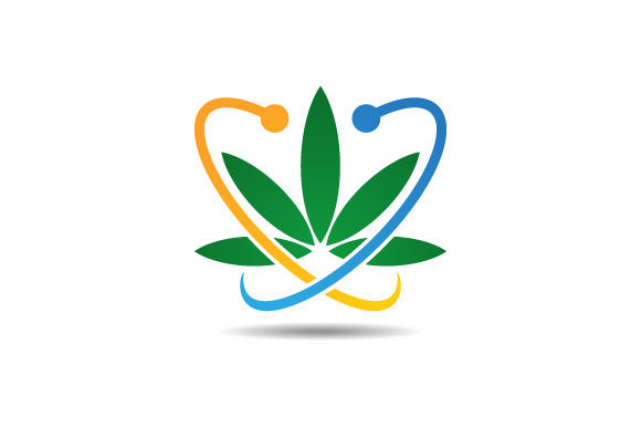 Download Free Marijuana Cannabis Leaf Logo Graphic By Hartgraphic Creative SVG Cut Files