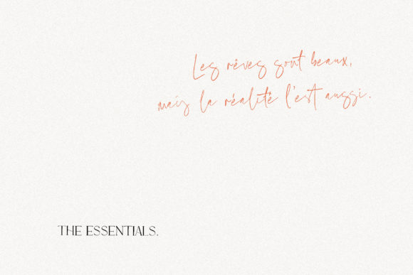 Print on Demand: Marion & the Essentials Serif Font By Emtheen Std. - Image 5