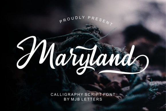 Print on Demand: Maryland Serif Font By MJB Letters