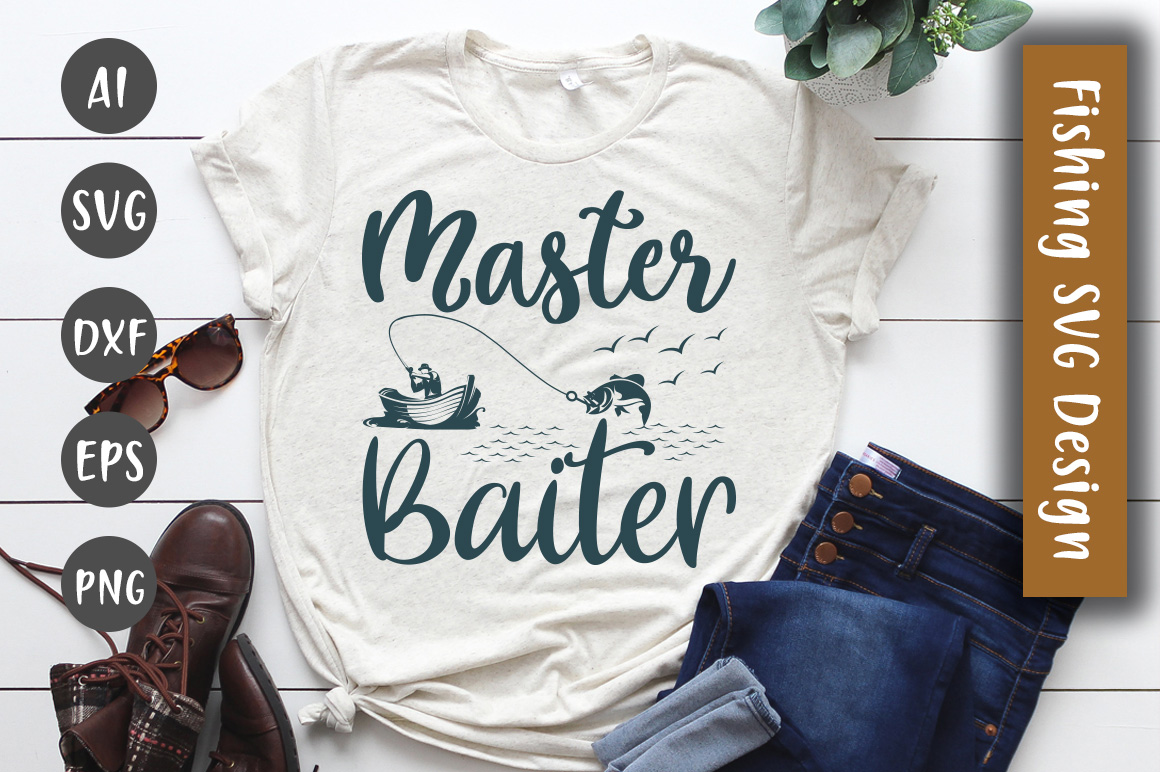 Download Free Master Baiter Design Graphic By Creativeart Creative Fabrica for Cricut Explore, Silhouette and other cutting machines.
