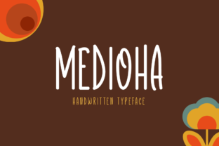 Medioha Font By Shattered Notion