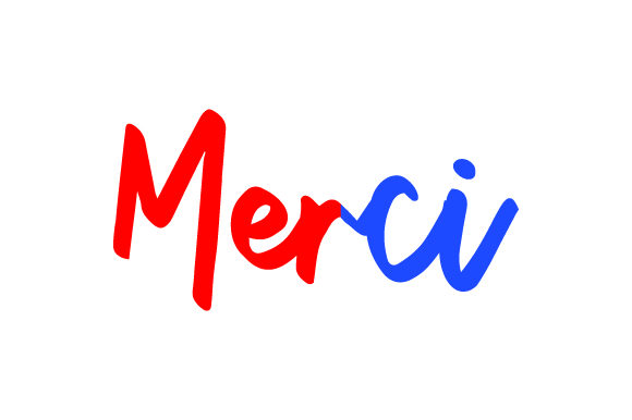 Merci France Craft Cut File By Creative Fabrica Crafts