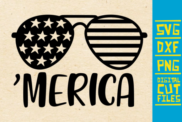 Download Free Merica Graphic By Svgyeahyouknowme Creative Fabrica for Cricut Explore, Silhouette and other cutting machines.