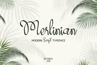 Merlinian Font By emanesdsign