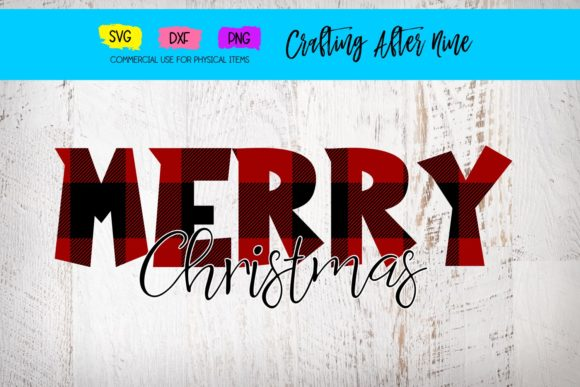Print on Demand: Merry Christmas Svg Graphic Crafts By Crafting After Nine
