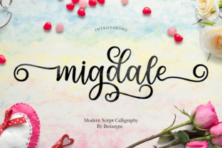 Migdale Font By Bexx Type