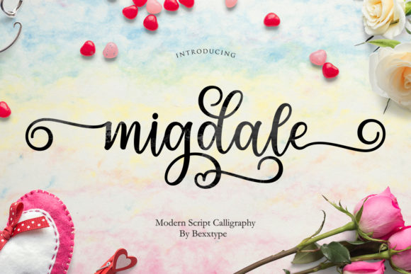 Print on Demand: Migdale Script & Handwritten Font By Bexx Type