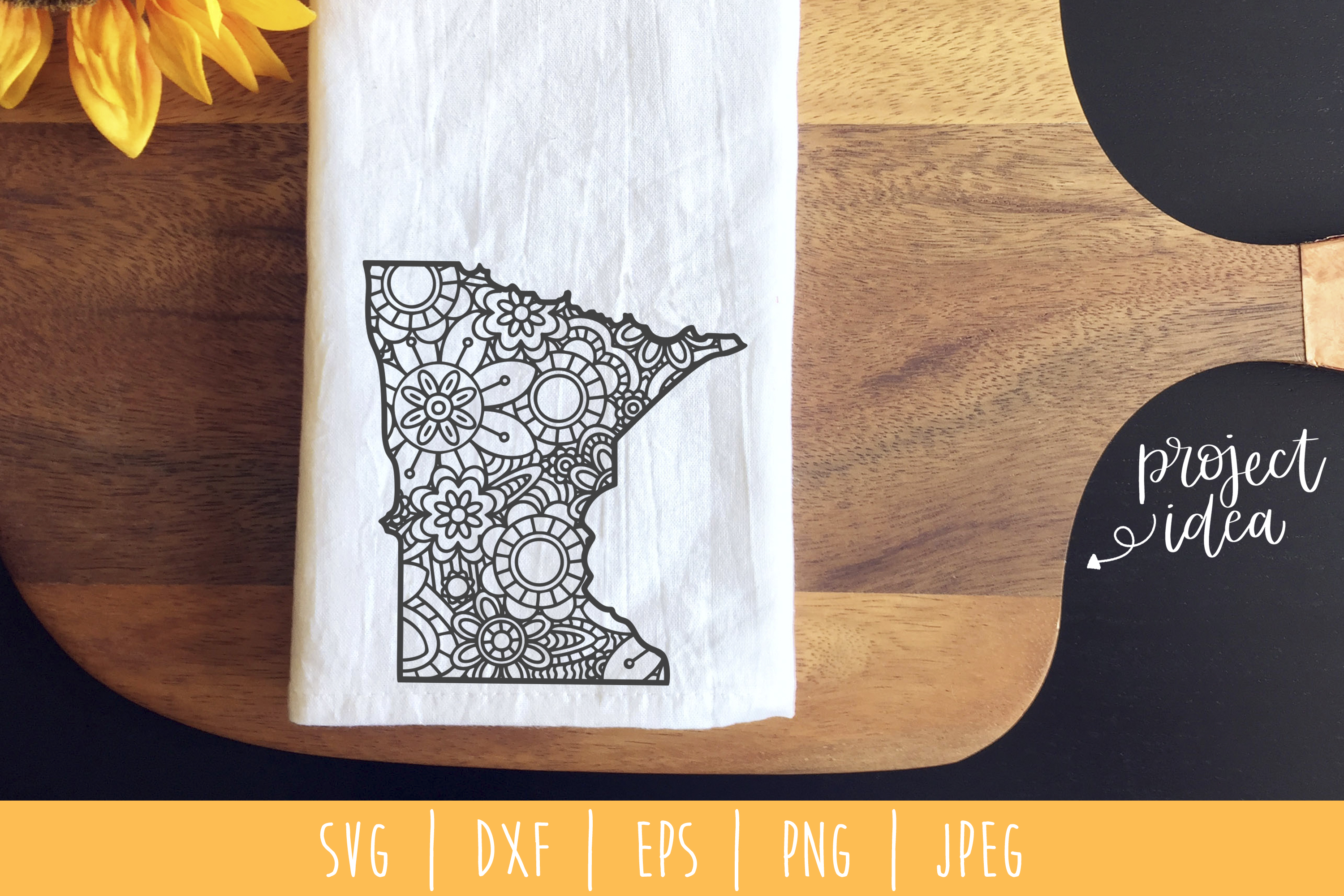 Download Free Minnesota State Mandala Zentangle Graphic By Savoringsurprises for Cricut Explore, Silhouette and other cutting machines.