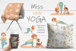 Miss Smile Yoga Collection Graphic By Alisovna