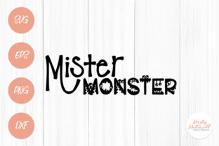 Mister Monster SVG Graphic By Kristy Hatswell