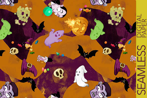 Print on Demand: Mixed Halloween Characters - Funny Style Graphic Patterns By Milaski