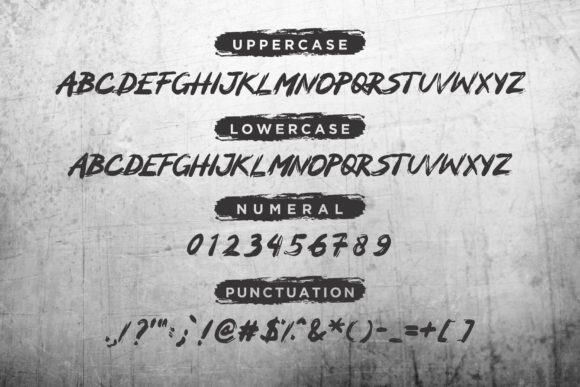 Print on Demand: Mocker Display Font By ZHR Creative - Image 2