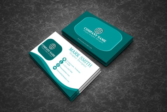 Download Free Modern Business Cards Graphic By Polahdesign Creative Fabrica for Cricut Explore, Silhouette and other cutting machines.