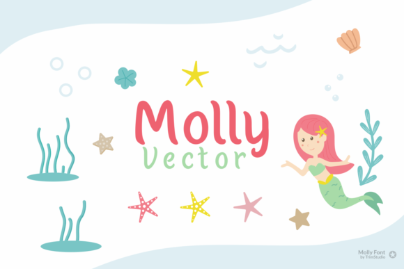 Print on Demand: Molly Display Font By Trim Studio - Image 6