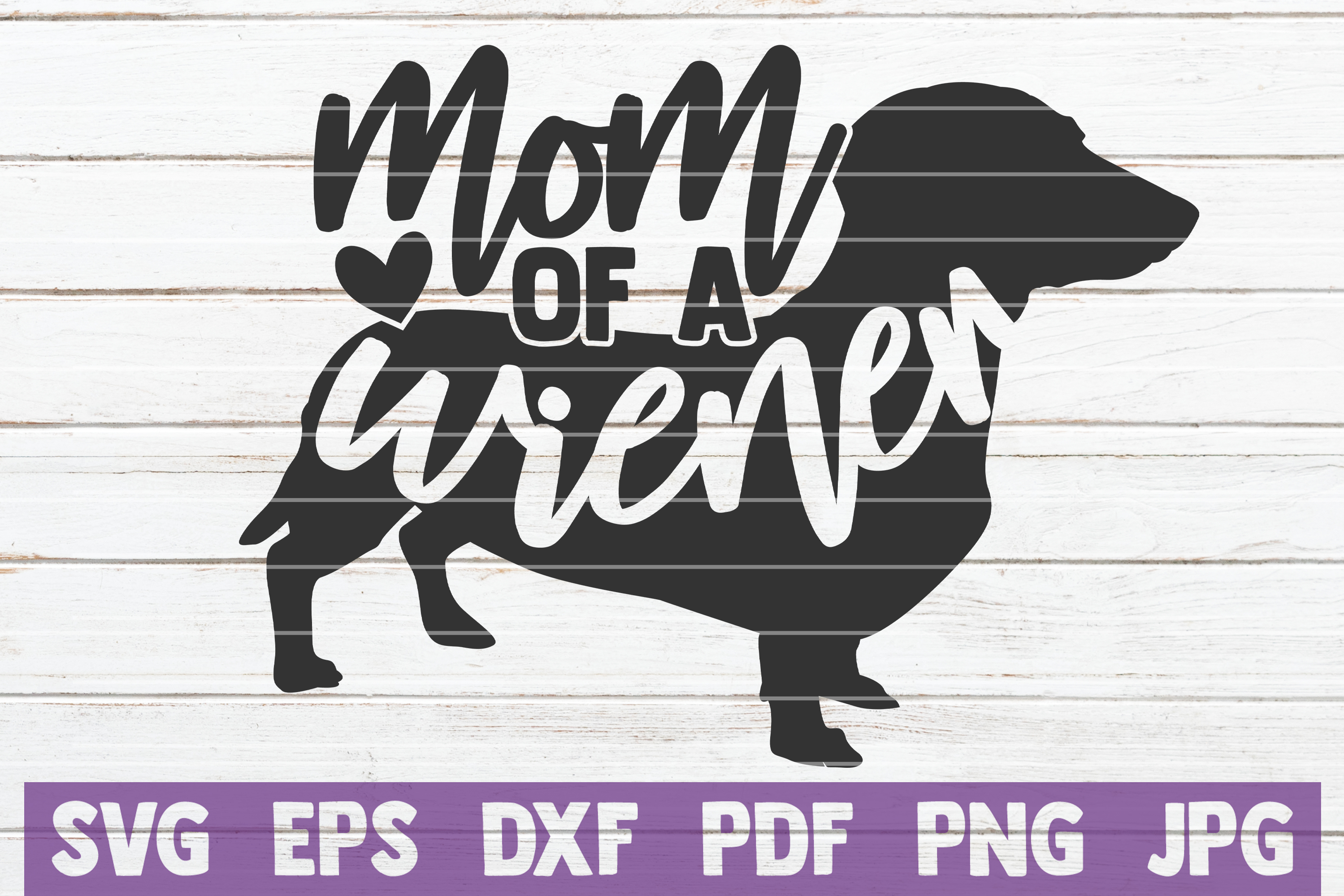 Download Free Mom Of A Wiener Svg Cut File Graphic By Mintymarshmallows for Cricut Explore, Silhouette and other cutting machines.