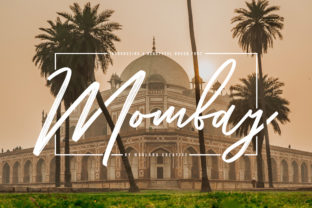 Print on Demand: Mombay Script & Handwritten Font By Maulana Creative