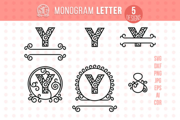 Monogram Letter Y Graphic Crafts By danieladoychinovashop - Image 1