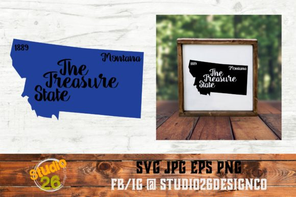 Download Free Montana State Nickname Svg Png Eps Graphic By Studio 26 for Cricut Explore, Silhouette and other cutting machines.