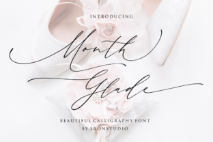 Month Glade Font By Sronstudio